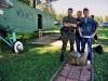 Организаторы прыжка Дима и Лёша