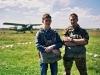 Алексей и Дима перед прыжком